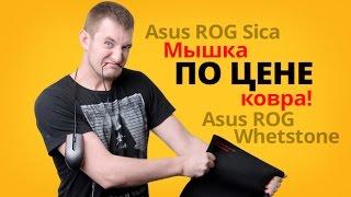 Обзор игровой мыши Asus ROG Sica и коврика Asus ROG Whetstone!