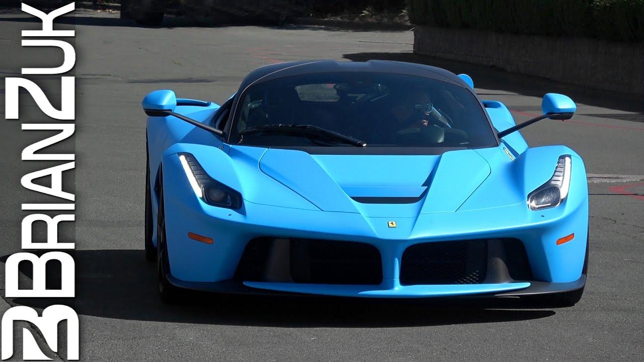 Matte Blue Ferrari Laferrari Youtube