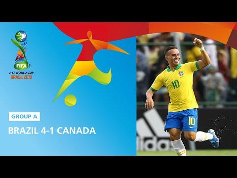 Brazil V Canada Highlights - FIFA U17 World Cup 2019 ™