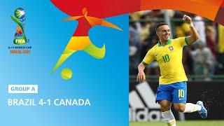 Brazil V Canada Highlights  Fifa U17 World