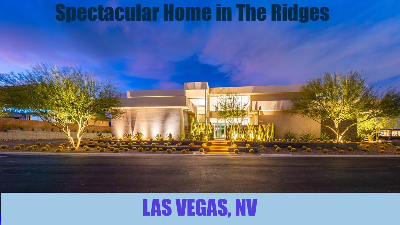 The Ridges, A Million Dollars Listing: 16 Hawk Ridge Dr, Las Vegas, NV 89135