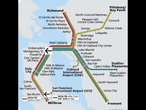 BART for your curiosity... MONTGOMERY-SAN BRUNO!!!