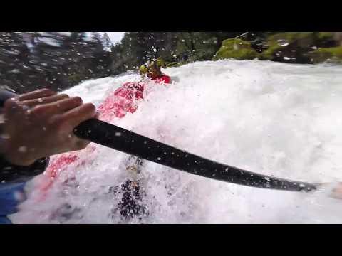 """The Little White Salmon """"Ldub"""" - 4.3' - Full Run - RAW Guide - Washington, USA"""