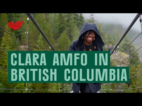 Clara Amfo visits British Columbia and creates a cultural podcast
