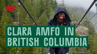 كلارا Amfo الزيارات كولومبيا البريطانية يخلق الثقافية بودكاست