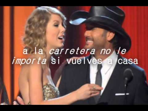 Highway Don't Care - Tim Mcgraw Ft. Taylor Swift & Keith Urban. [Letra En Español]