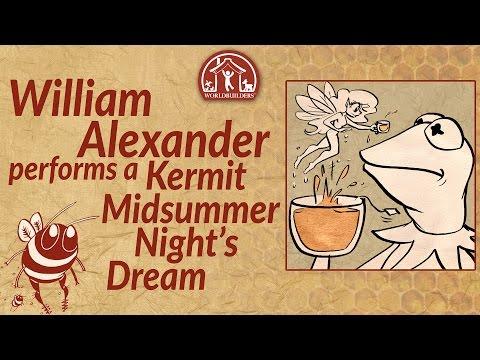 Worldbuilders 2016: William Alexander performs a Kermit Midsummer Night