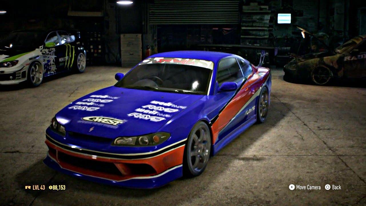 need for speed 2015 customization nissan silvia (mona lisa) fnf