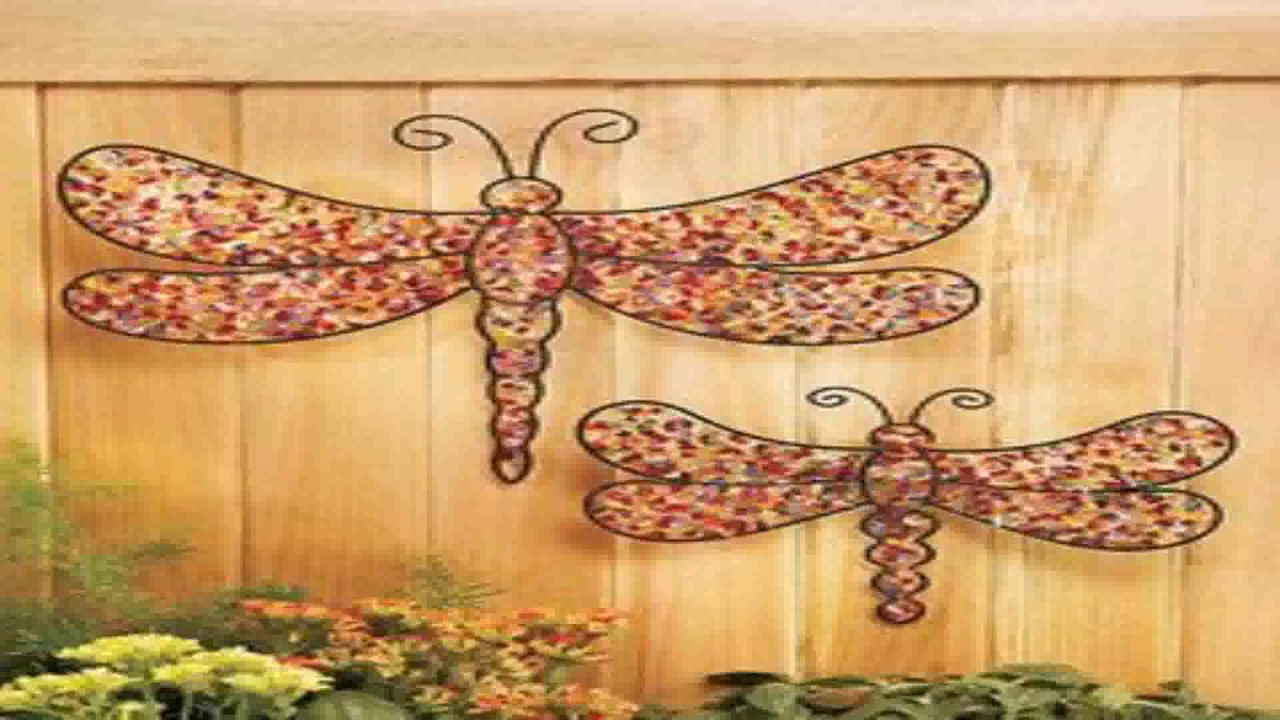 Diy Outdoor Fence Decorations - YouTube