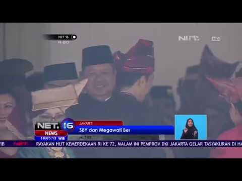 Pertemuan SBY dan Megawati di Upacara Peringatan 17 Agustus - Net 16