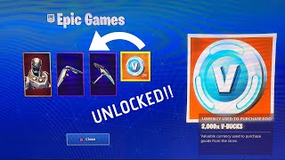 FORTNITE EON SKIN BUNDLE UNLOCKED!! *NEW*