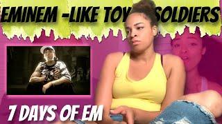 Eminem - Like Toy Soldiers (Reaction) | 7 DAYS OF EM