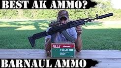 Best AK Ammo? Barnaul Ammo Rocks!