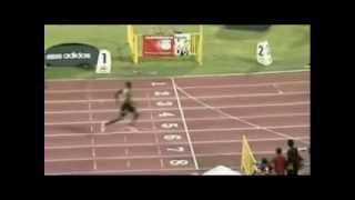 usain bolt 400m wins easily thumbnail