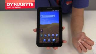 Samsung Galaxy Tab demonstratie - Dynabyte