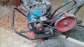 Мотоблок МБ-1, ремонт и замена двигателя мотоблока