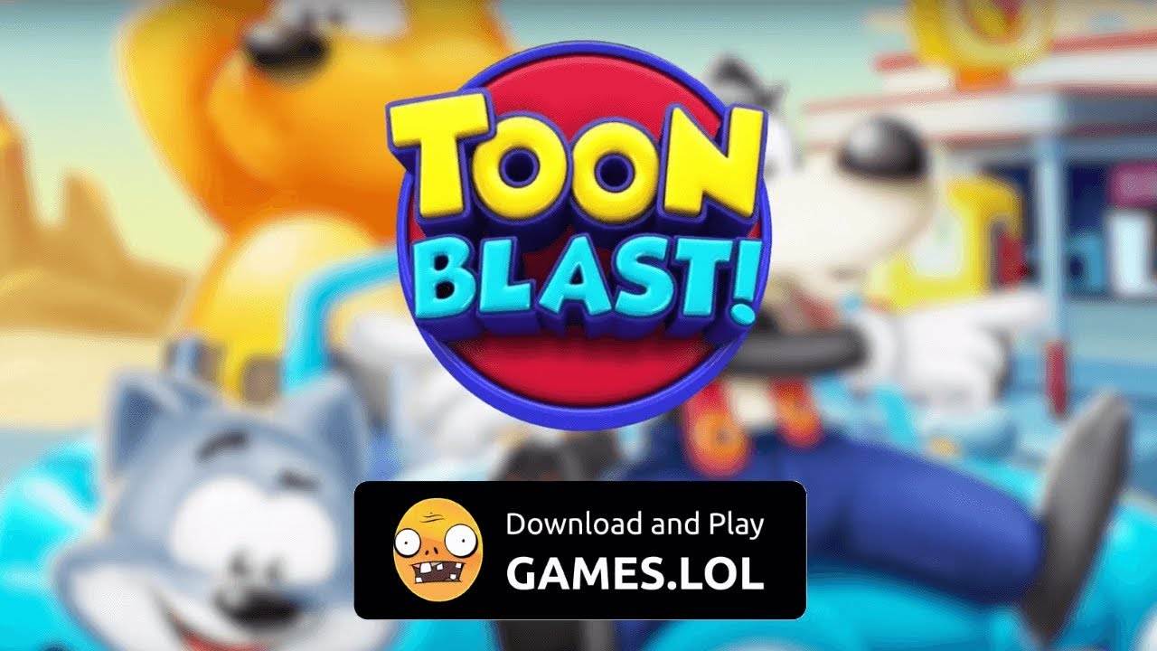 Download [TOON BLAST] for PC | Free Hack, Cheats, Unlimited