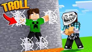 Minecraft : ARMADILHA TROLL !! - ( TROLL VS TROLL )