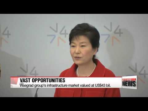 President Park holds first summit with Visegrad group   한-비세그라드 정상회의 공동성명 채택