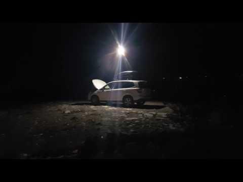BangGood 12' Telescoping Led Area Light Remote Camping Fishing Light