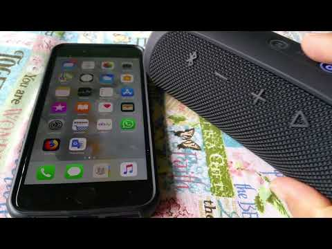 How to connect JBL Flip 4 to Iphone 8 or Iphone 8 Plus