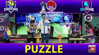 Puzzle  | Game Show Aisay Chalay Ga League Season 2 | TickTock Vs Champion