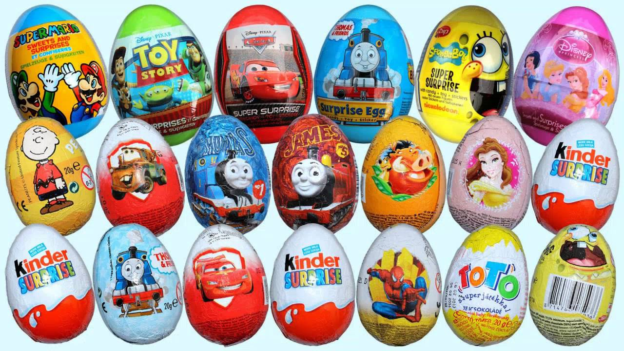 Kinder Surprise Eggs For Sale