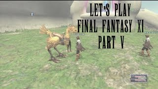 Let's Play Final Fantasy XI Part 5 - A Starter Quest or Two