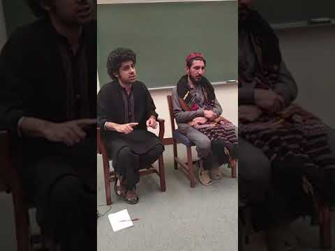 Manzoor Pashteen speech at LUMS, Lahore