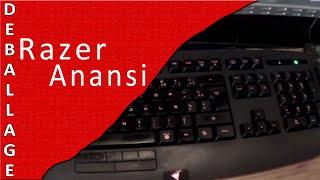 Test clavier Razer Anansi