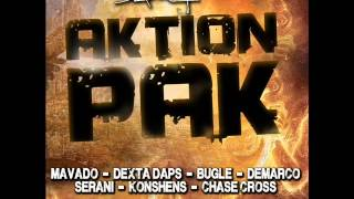 AKTION PAK RIDDIM MIXX BY DJ-M.o.M DEMARCO, MAVADO, KONSHENS, BUGLE and more