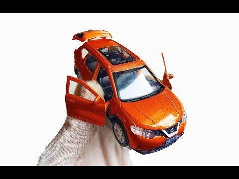 Про МАШИНКИ. Новые модельки Nissan / Ниссан X-Trail и Qashqai распаковка и обзор машинок.