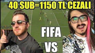 WTCN VS Kendine Müzisyen 1150 TL CEZALI FIFA KAPIŞMASI !