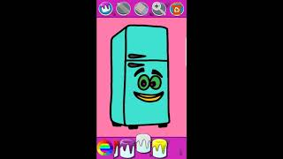 Kitchen Cooking Coloring Pages -Kids Coloring Book - Android Game Play HD