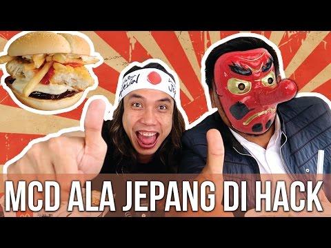 McDonald's Cita Rasa Jepang di HACK!!! | Ayo Makan | GERRY GIRIANZA ft. BLACK
