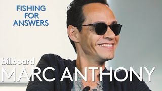 Marc Anthony rapid fire interview | Fishing For Answers Ep. 4