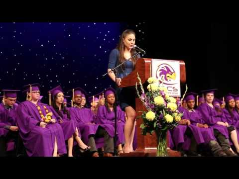 Ashley Nickels Commencement Speech - Elk Grove Charter School Graduation 2014
