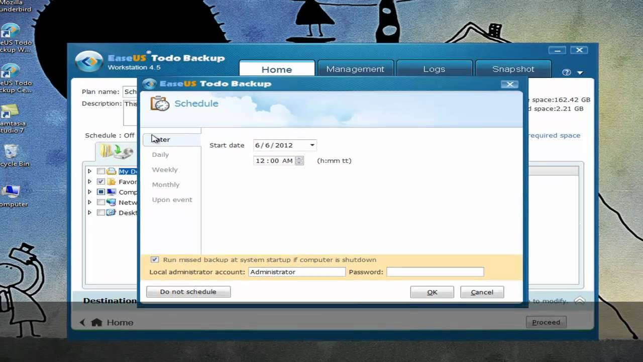 Best schedule backup software of windows 7/xp/vista for continuous.