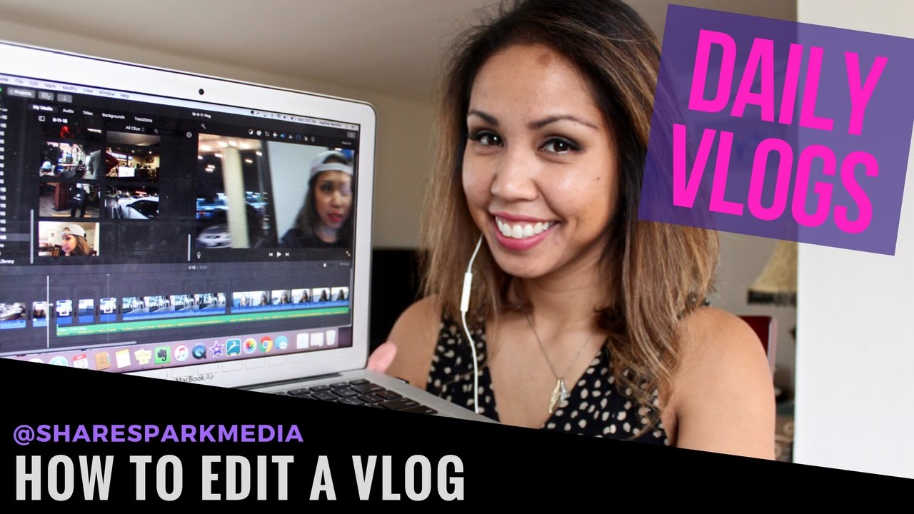 Video Editing Tutorial  How To Edit A Vlog In Imovie