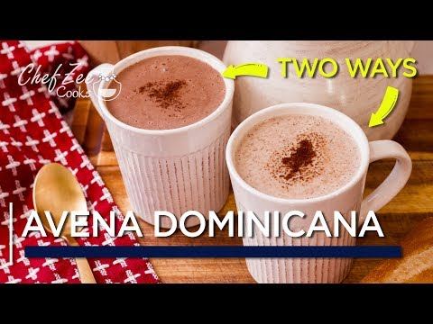 Avena Dominicana TWO Ways | Dominican Style Oatmeal | Dominican Recipes | Chef Zee Cooks
