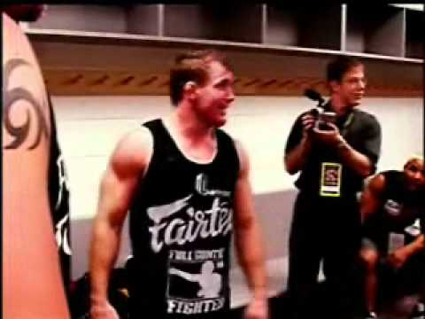 The Undertaker BackStage At UFC 42