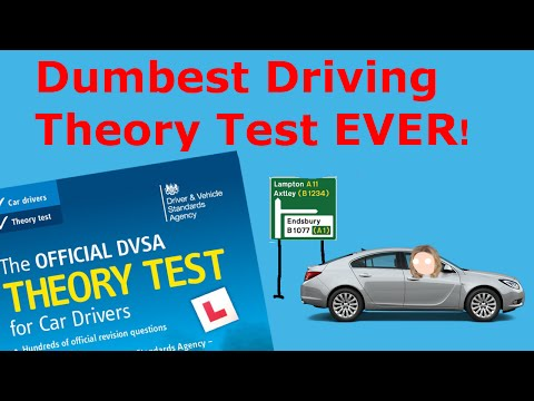 Dumbest Driving Theory Test Ever!