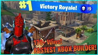 GIVEAWAY AT 1K SUBS! Fastest Fortnite Console Builder! Builder Pro! (Fortnite: Battle Royale)