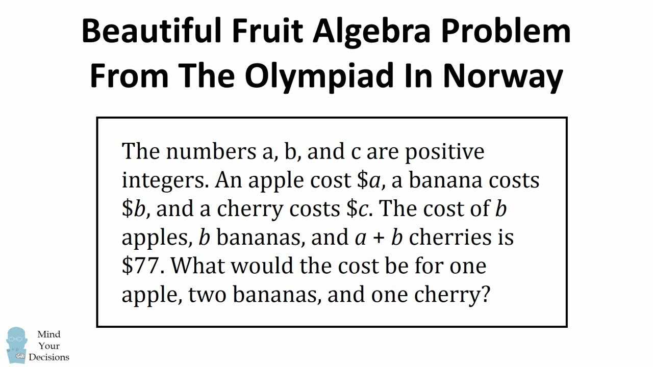 Norway Math Problem Seems Impossible, But It's Beautifully Solvable