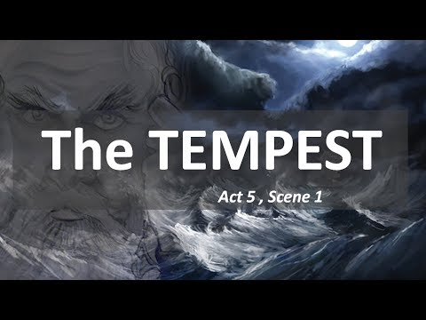 The Tempest - Act 5,Scene 1