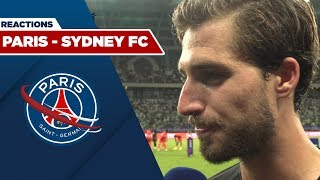 POST MATCH REACTIONS  &   :  PARIS SAINT-GERMAIN - SYDNEY FC