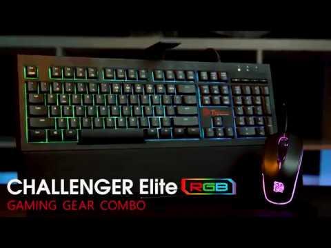 Tt eSports Challenger Elite RGB Combo - Video