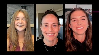 Sue Bird And Alex Morgan From Togethxr And Sam Gordon | The 2021 MAKERS Conference