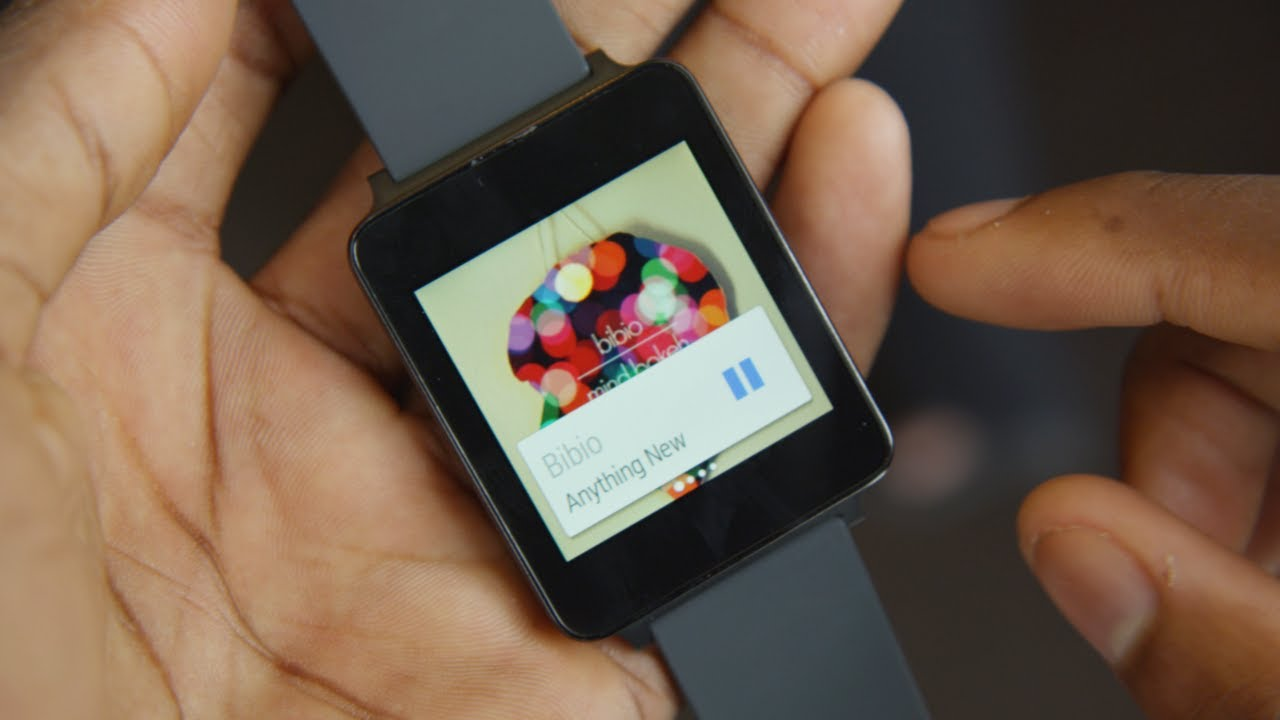 LG G Watch Hands-on Impressions!