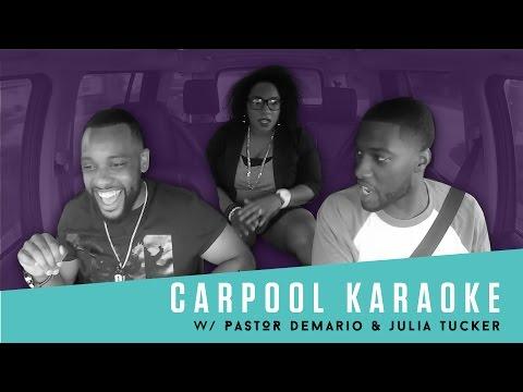 Pastor Demario & Julia Tucker Carpool Karaoke